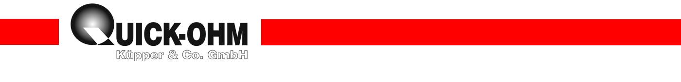 Quick-Ohm Küpper & Co. :: Saphirdüsen-Shop